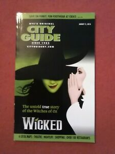 NYC's Original City Guide 2016 New York USA New Theatre Wicked The Witches of Oz