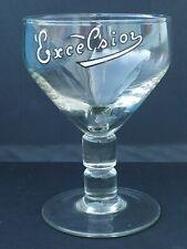 verre bière bierglas excelsior