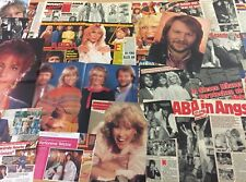 ABBA  ❤️ SAMMLUNG 44+❤️ POSTER  / LOT / CLIPPINGS ❤️