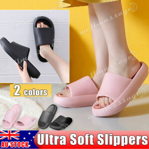 Pillow Slides Sandals Ultra-Soft Slippers Anti-Slip Extra Soft Cloud Shoes
