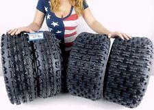 MASSFX ATV Tires  22X7-10 22x10-10 4 Set 4 ply KAWASAKI KFX 700 2WD 2003-2010