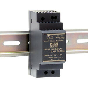 Meanwell HDR-30-12 Ultra Slim DIN Rail Power Supply