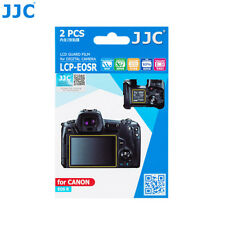 JJC 2 PCS LCD Guard Film Camera Screen Protector for Canon EOS R