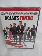 New Retail Sealed Oceans Twelve DVD Movie 2005 Widescreen Edition