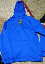 Nike Therma-Fit Pullover Men's Training Men's Hoodie Dri Fit Size XL Blue NWT