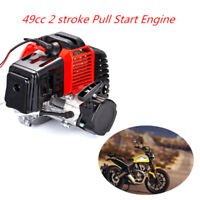 49Cc 2-Stroke Engine Motor Pull Start Pocket Mini Bike Scooter Atv Goped Bu JE
