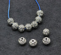 Jewelry finding Tibetan silver fashion Charms Spacer beads 20-300pcs 8X7mm1.3G