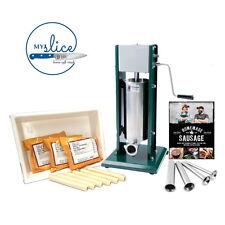 Sausage Making Gift Pack - 5Kg Vertical Filler / Tub / 3x Gourmet Sausage Meal