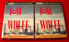 Tom Wolfe A Man In Full BBC 4-Tape Audio Book William Hootkins