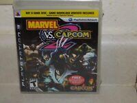 MARVEL VS CAPCOM 2 PS3 NOT A GAME DISC