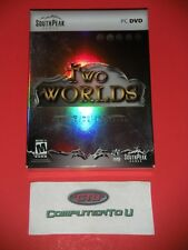 TWO WORLDS 2 DISK COLLECTORS EDITION DVD PC GAME