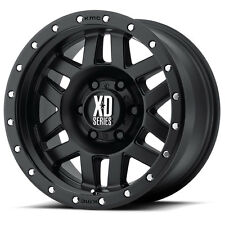 KMC XD MACHETE 17x8.5 Satin Black Alloy Mag Wheel Rim suit Landcruiser 100 200