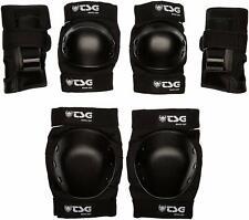 Tsg - Junior Set - Black include Elbow, Knee Pad set for cycling/Skateboarding