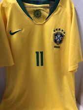2018 World Cup Brazil Jersey / Shirt And Shorts Boys Size Medium (Coutinho #11)