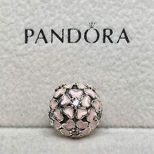 Charm Plata de Ley CLIP FLOR DE CEREZO Genuine Pandora Box ALE S925