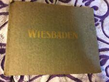 Antique vintage WIESBADEN ALLEMAGNE  album 15  PHOTOS CA 1910 GERHARD BLUMLEIN