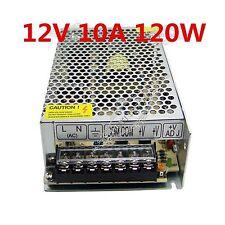 10A 120W DC 12V LED Driver Light Strip Transformer Power Supply AC 110V/220V