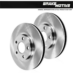 For Ford Fusion Lincoln MKZ Zephyr Mazda 6 Milan Front 299 mm Brake Rotors Pair