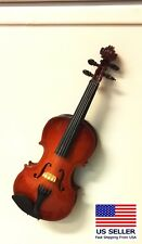 "Miniature Wood Violin or Viola, 5.5""  Magnetic for Refrigerator"