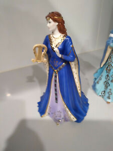 """Royal Worcester figurine """"The Maiden of Dana"""" Mint condition"""