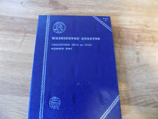 WHITMAN WASHINGTON QUARTER COLLECTION 1932 TO 1945 #1  BOOK #9018