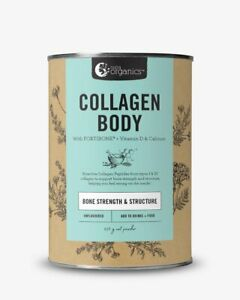 Nutra Organics Collagen Body with FORTIBONE + Vitamin D & Calcium 450g or 225g