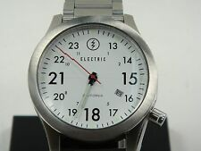 AUTHENTIC ELECTRIC WATCH FW01 SS WHITE NEW IN THE BOX! EW0010010002