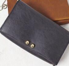 Free People Vegan Leather Tarnished Chain Small Handbag Crossbody Bag Purse $58