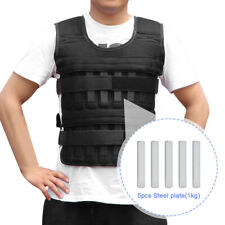 Pull Ups Training With Steel Plate Adjustable Weight Weighted Vest Fitness Gym