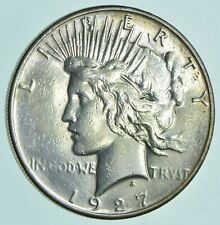 1927-S Peace Silver Dollar - Walker Coin Collection *821
