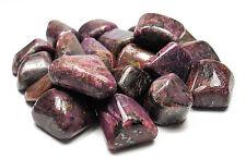 TUMBLED - (1) Medium RUBY Crystal with Description Card - Healing Stone Reiki