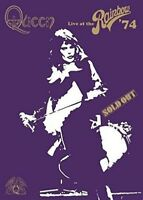QUEEN - LIVE AT THE RAINBOW  DVD NEW!