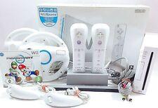 Nintendo Wii 2 PLAYER Mario Kart Pack - alles original Zub. mit OVP