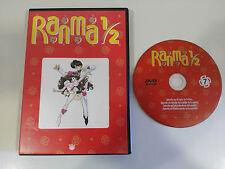 RANMA 1/2 MANGA EPISODI 25 - 28 SPANISH EDITION DVD VOLUME 7 - 200 MINUTI