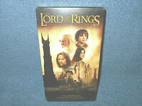 THE LORD OF THE RINGS - THE TWO TOWERS - VHS TAPE - NEW FACTORY SEALED