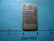 SIMMONS REFCO METALS COMMERCIAL 999 SILVER BAR