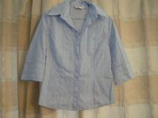Next Blue 3/4 Sleeve Shirt