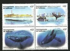 URUGUAY 2011 FAUNA SEEING WHALES  LIGHTHOUSE SET MNH YV 2518-21
