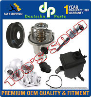 Water Pump Pulley Gasket Thermostat Expansion Tank fr BMW E60 E63 545i 645Ci KIT