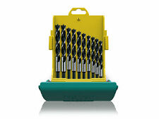 Heller 10 piece CV Brad Point Wood Drill Bit Set 3mm - 12mm Quality German Tools