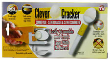 As Seen on TV Combo Pack: Egg Clever Cracker & Egg Clever Scrambler w/ Free Gift