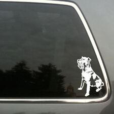 Irish Terrier dog car window vinyl decal sm
