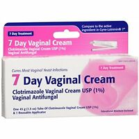 7 Day Vaginal Antifungal Cream USP 1% With Applicator Compare to Gyne-Lotrimin