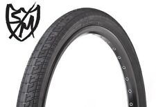 "NEW S&M Trackmark 24"" x 1.75"" Folding Bead BMX Tyre Black Race Bike 24 Cruiser"