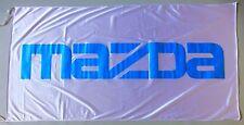 MAZDA FLAG WHITE - SIZE 150x75cm (5x2.5 ft) - BRAND NEW