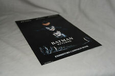 BATMAN RETURNS Cinema Campaign Press Kit Michael Keaton, Danny Devito, Penguin