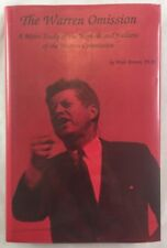Signed 1st Dallas Kennedy JFK Assassination Conspiracy The Warren Omission