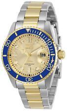 Invicta Women's 30482 Pro Diver Quartz 3 Hand Gold Dial Watch