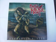 RAVEN BLACK NIGHT - BARBARIAN WINTER - 2LP BLACK VINYL EXCELLENT CONDITION 2013
