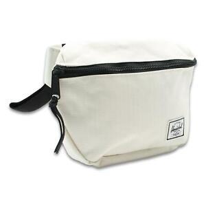 Herschel Fifteen 2L Hip Pack Blanc De Blanc Ripstop One Size New